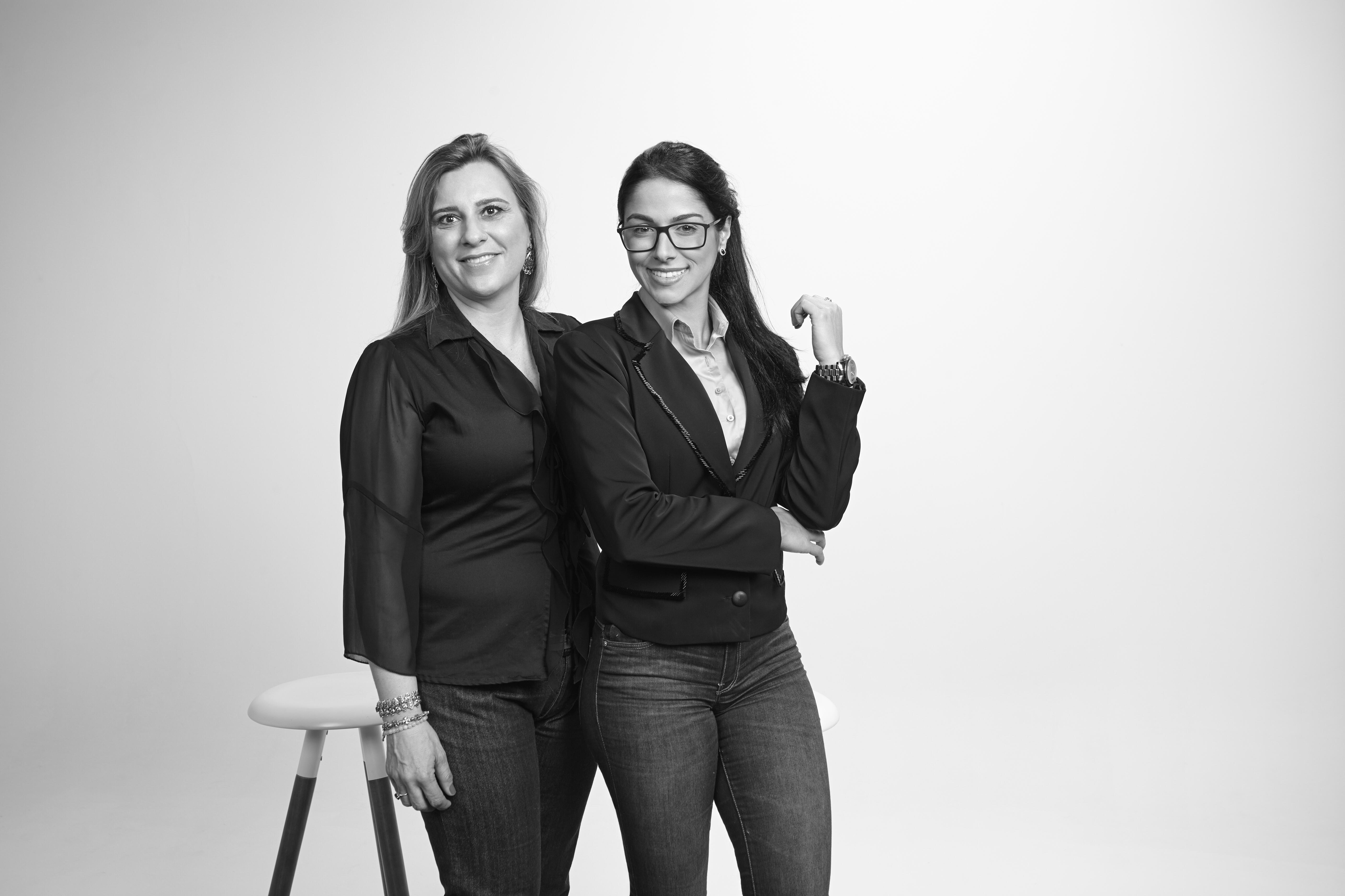 Andréia Moura e Juliana Paula da Silva - Crédito Henrique GualtieriBox 55