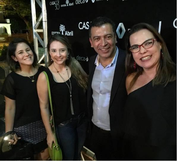 Camila Horta, Duda Jungmann, Pedro Ariel e Isabela Coutinho - Foto reprodução