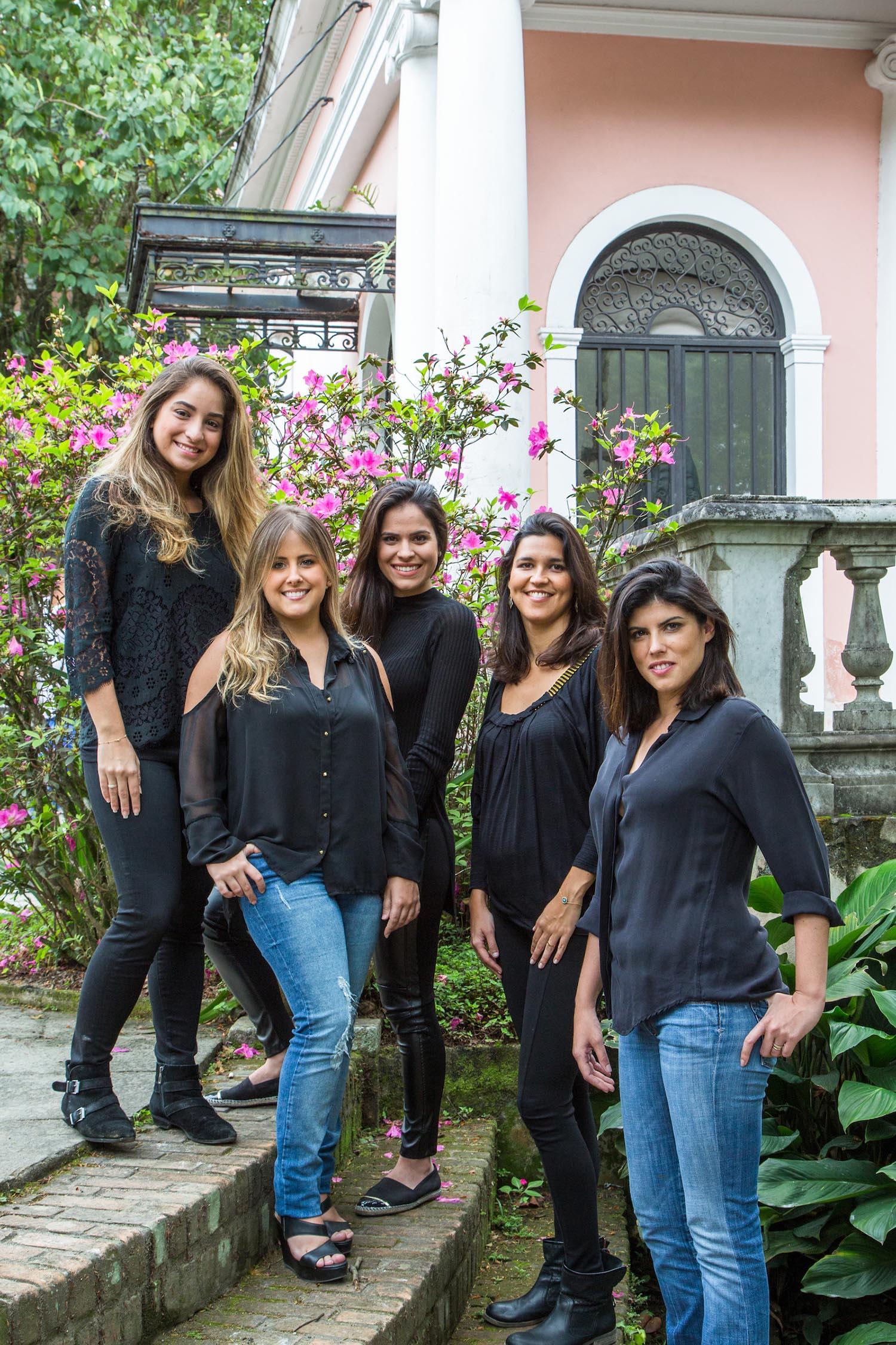 Carolina Escada, Patricia Landau, Carolina Lerner, Gabriella Alves e Sabina Kalaoun-01