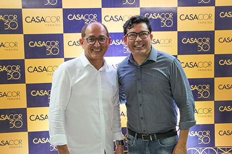 Cesar Revorêdo e Ricardo Castro