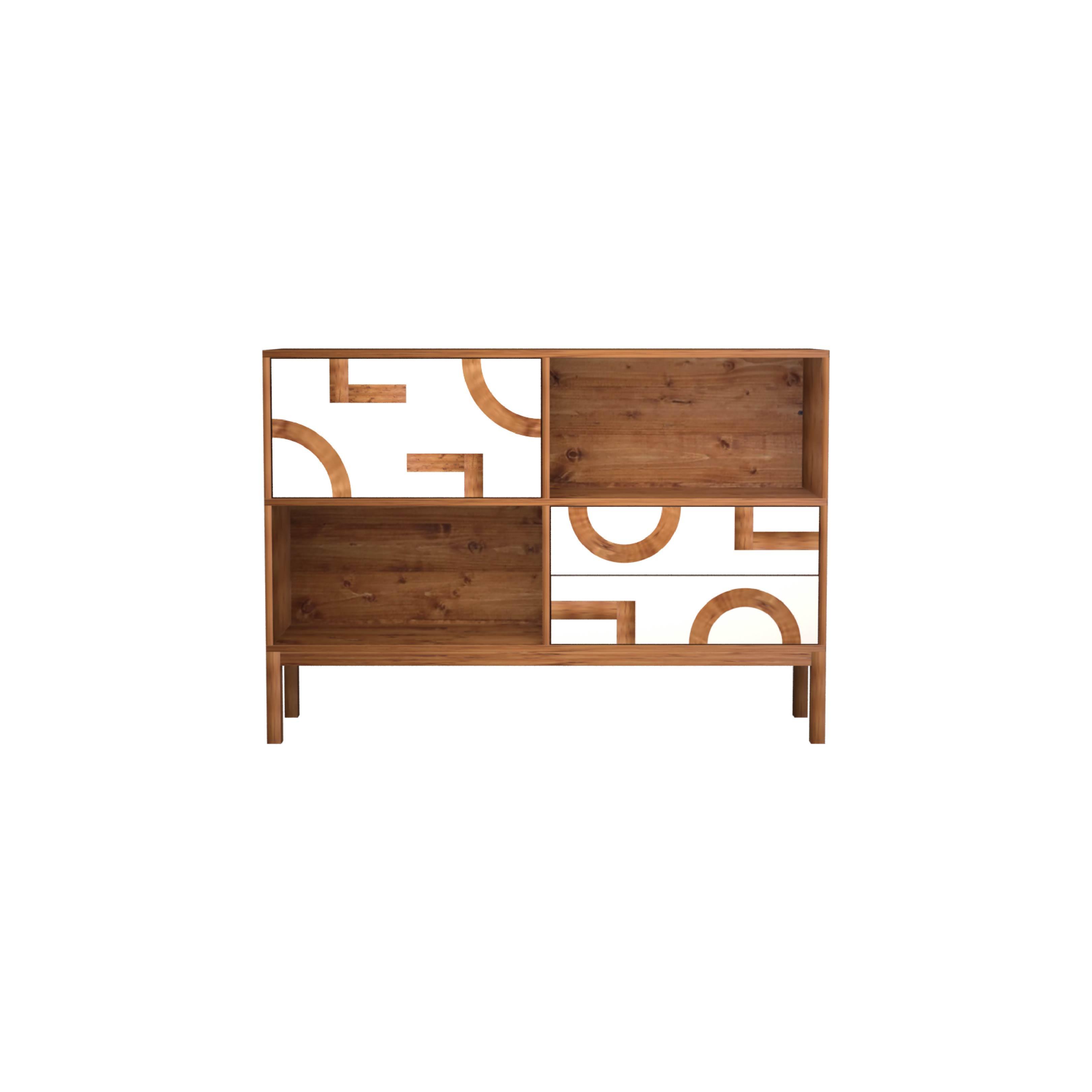 Colina Design - moveis em madeira linha inspirada nos traços de Brasilia