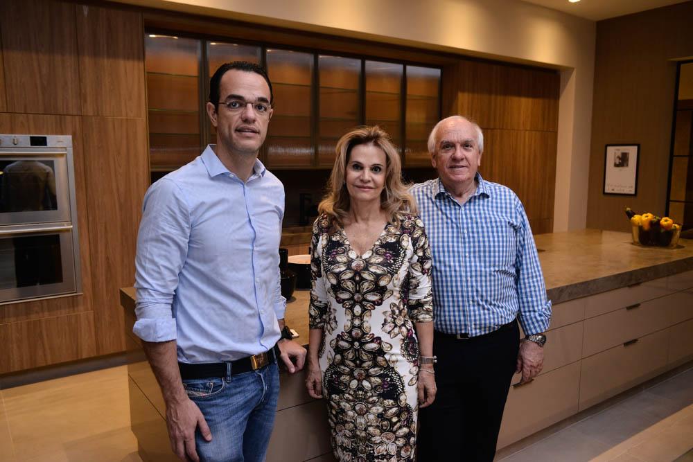 Diretores da Mostra - Marcelo Giglio, Emili Ayoub Giglio e Vagner Giglio