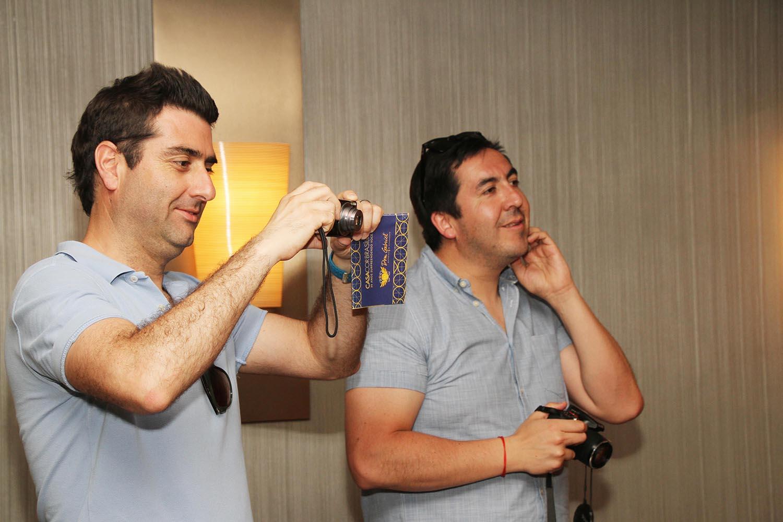 Felipe Donoso e Fernando Raposo