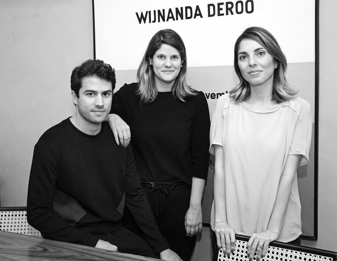 Felipe, Sarah e Ana se conheceram na Casa Cor Minas 2015 e este ano estreiam a parceria com o projeto do Bar