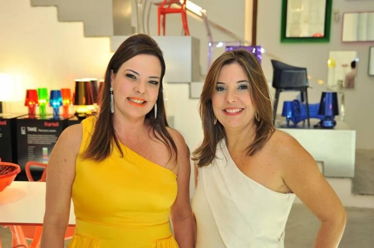 Isabela Coutinho e Carla Cavalcanti - Foto divulgação