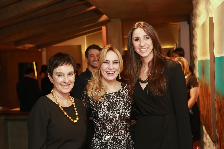 Livia Pedreira, Tatiana Ratier diretora executiva e Graziela de Caroli