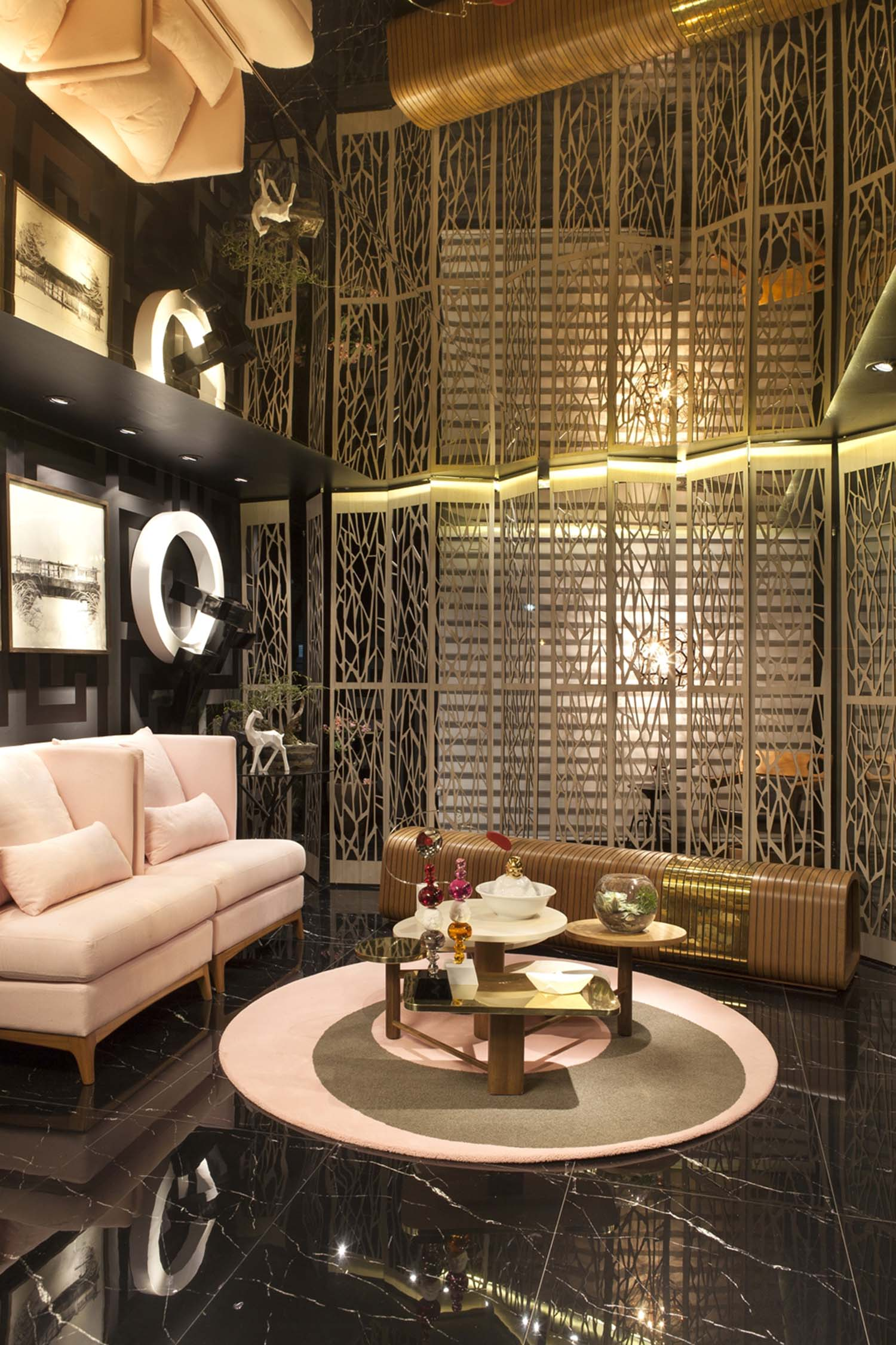 Lounge de entrada - Foto Felipe Araújo