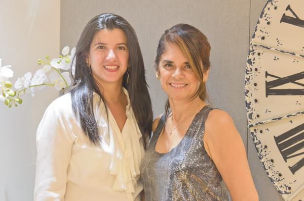 Luiza Nogueira e Simone Lima