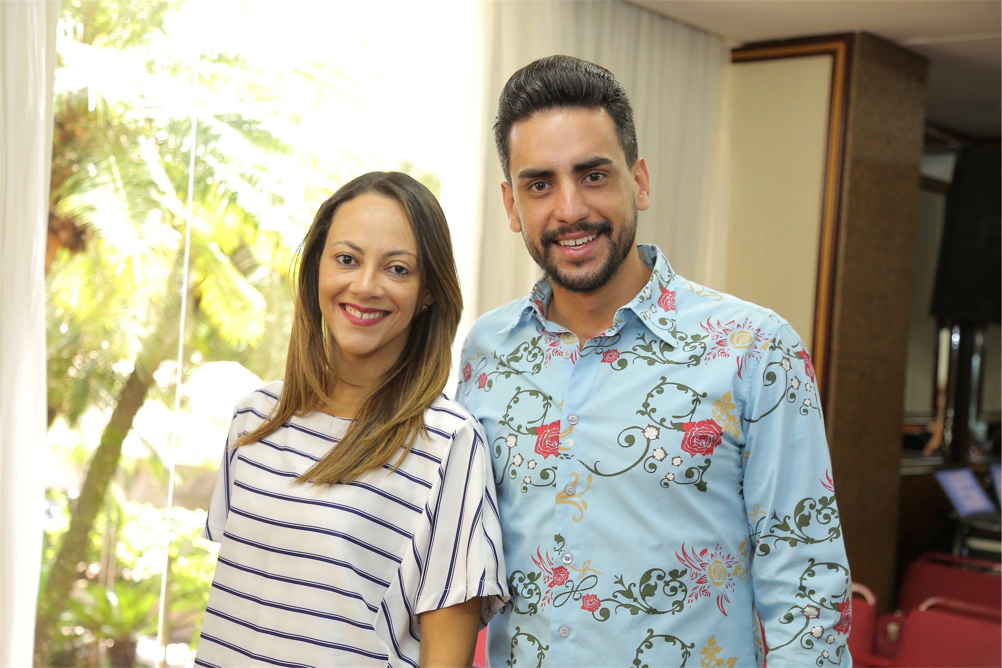 Novatos na CASA COR Aline Torres e Tiago Oliveira Cardoso