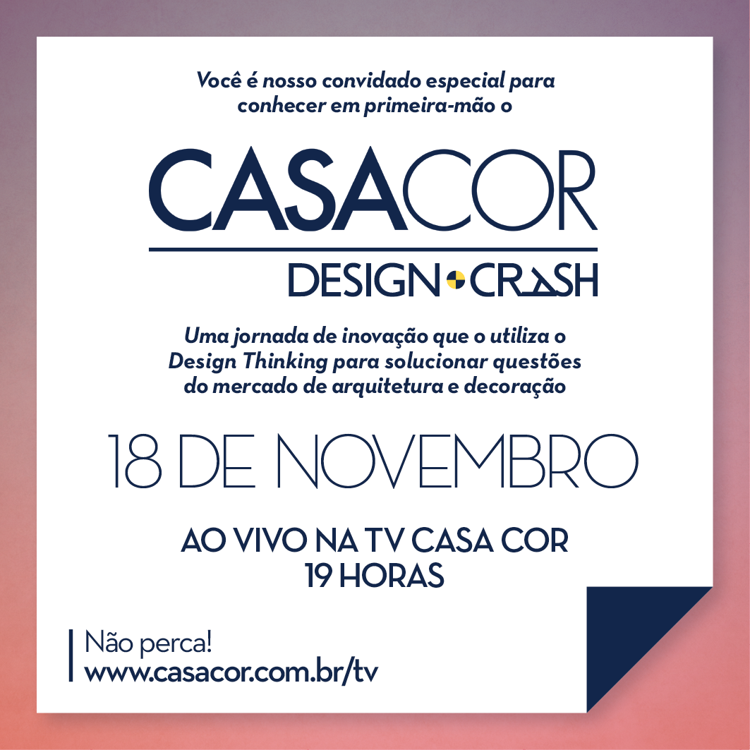 REDES Casa Cor Design Crash