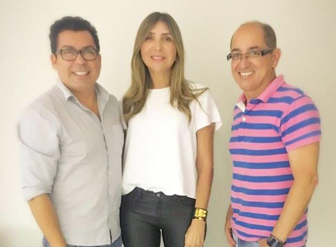 Ricardo Castro, Valdete Duarte e Cesar Revorêdo