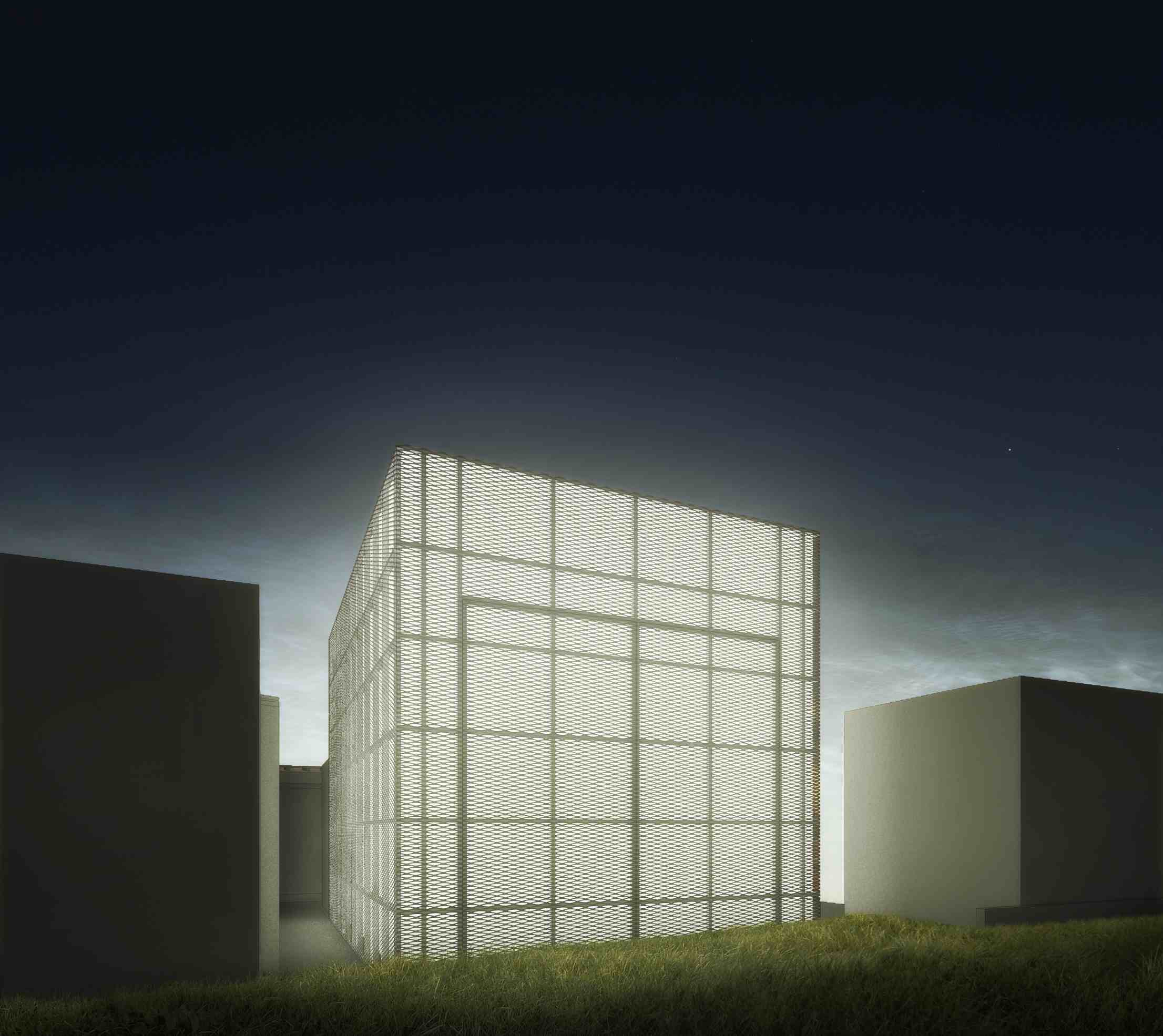 Teatro Multiuso - perspectiva externa - Crédito Haiko Cirne Sinnema