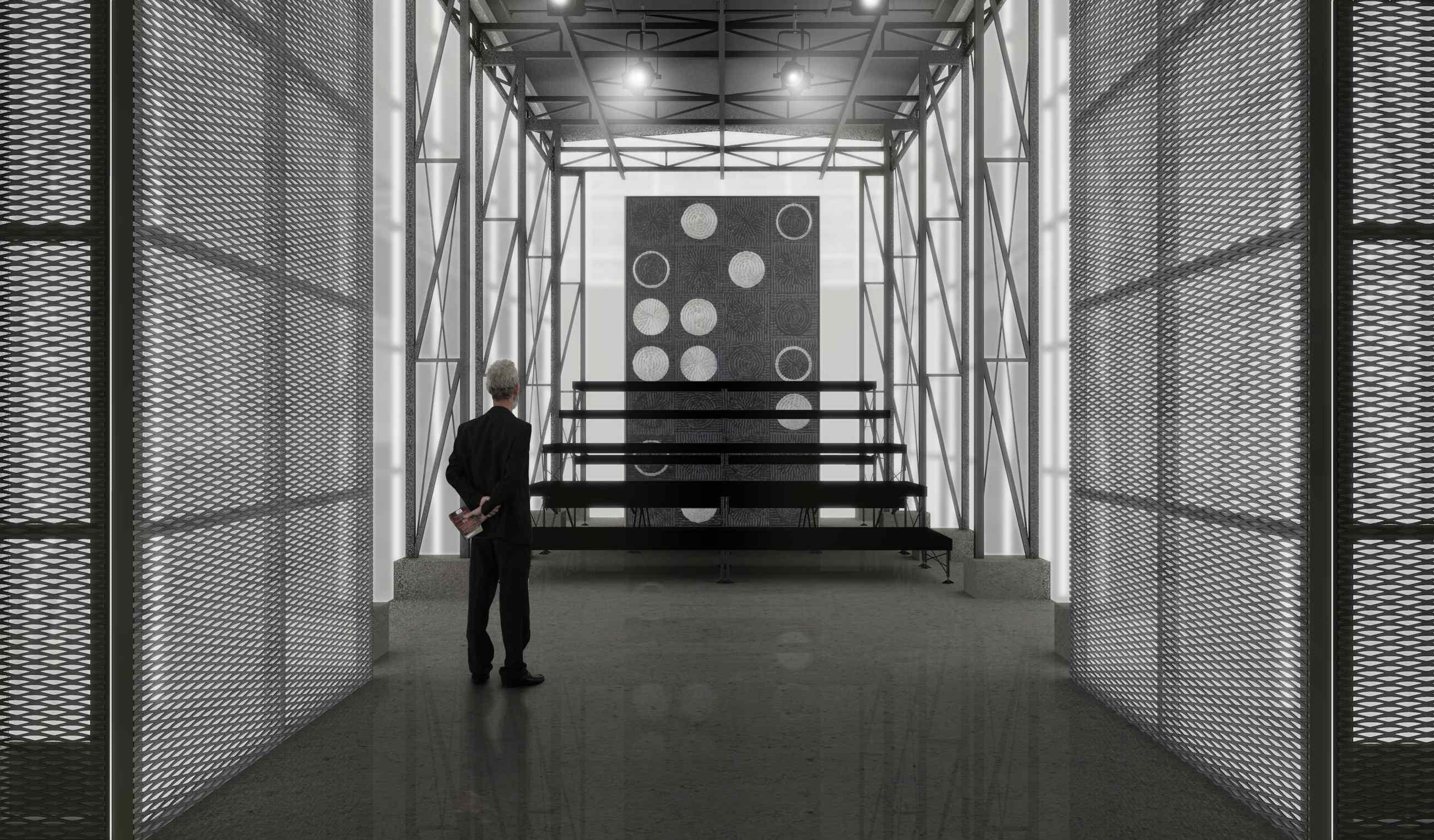 Teatro Multiuso - perspectiva interna - Crédito Haiko Cirne Sinnema