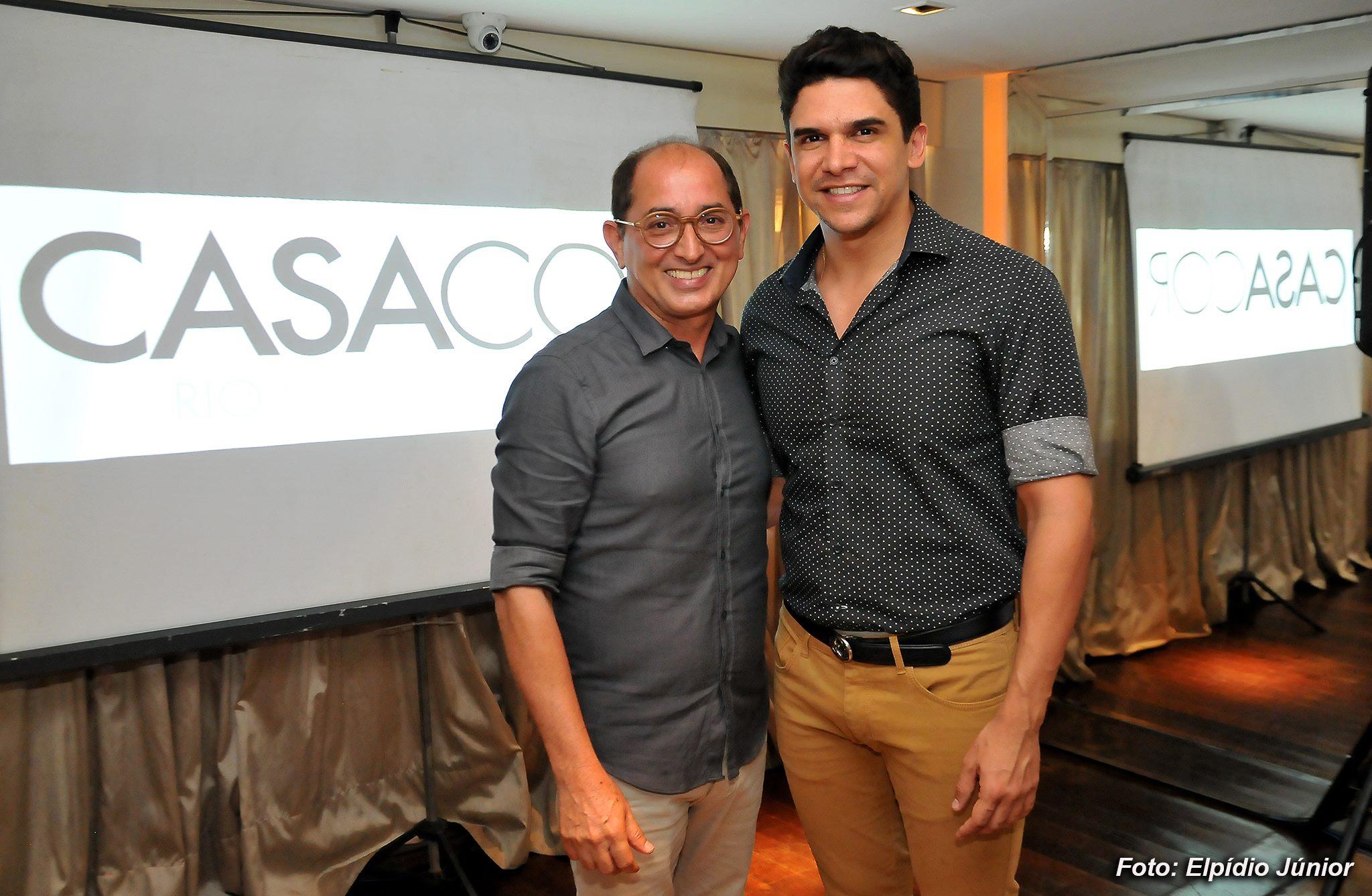 Cesar Revorêdo e Luciano Almeida