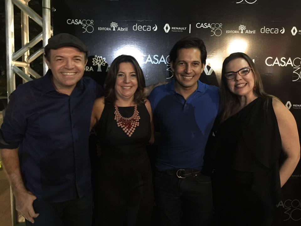 André Dantas, Carla Cavalcanti, Maury Santana e Isabela Coutinho - Foto Gustavo Glória
