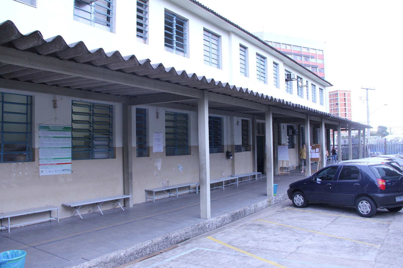 Antigo prédio CMAC Juarez Barbosa