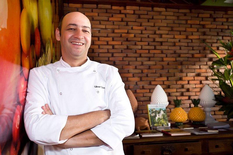 Chef César Santos - Crédito Dante Barros