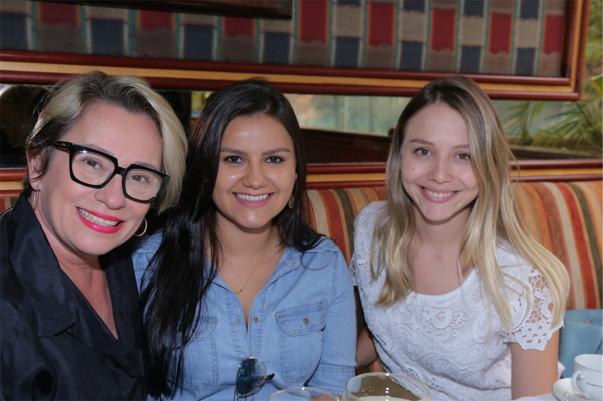 Ednara Braga, Flávia Araújo e Juliana Resende - Foto Geovana Cristina