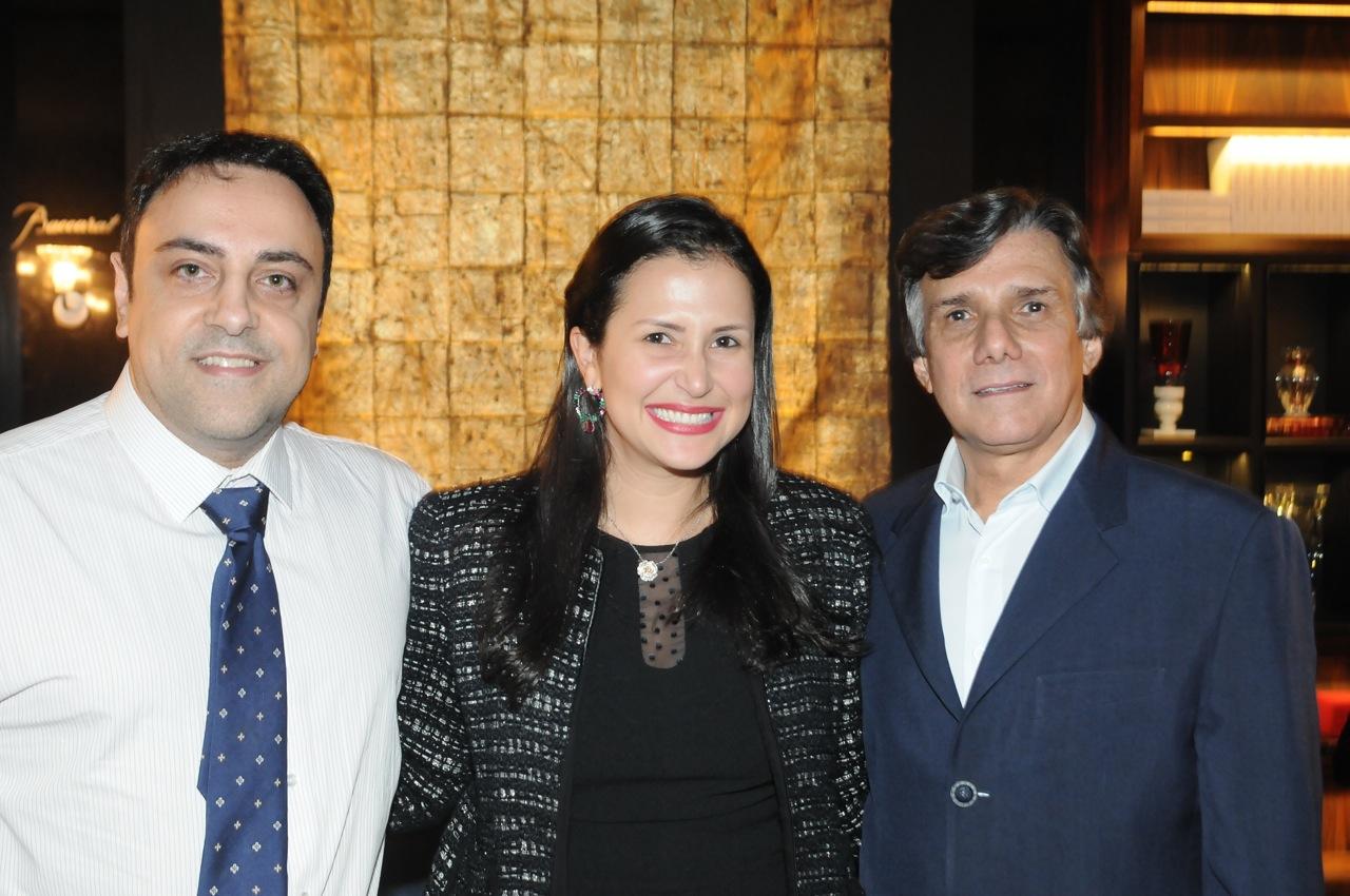 LUIZ CLAUDIO BEGAN, VIVIAN COSER E WILSON VEIGA
