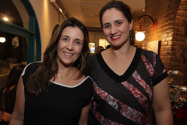 Mariana Russo e Fernanda Ventura - Crédito Roberto Ramos