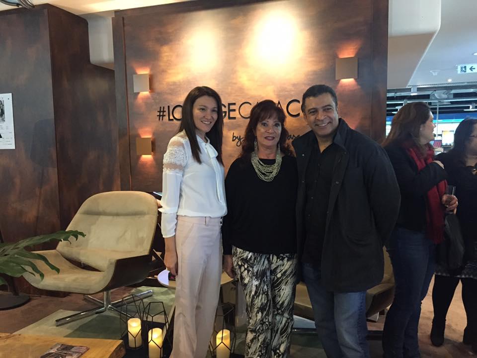 Patricia Pasquini, Anahid Kamafian e Pedro Ariel