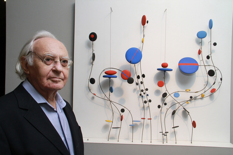 Abraham Palatnik, artista plástico.