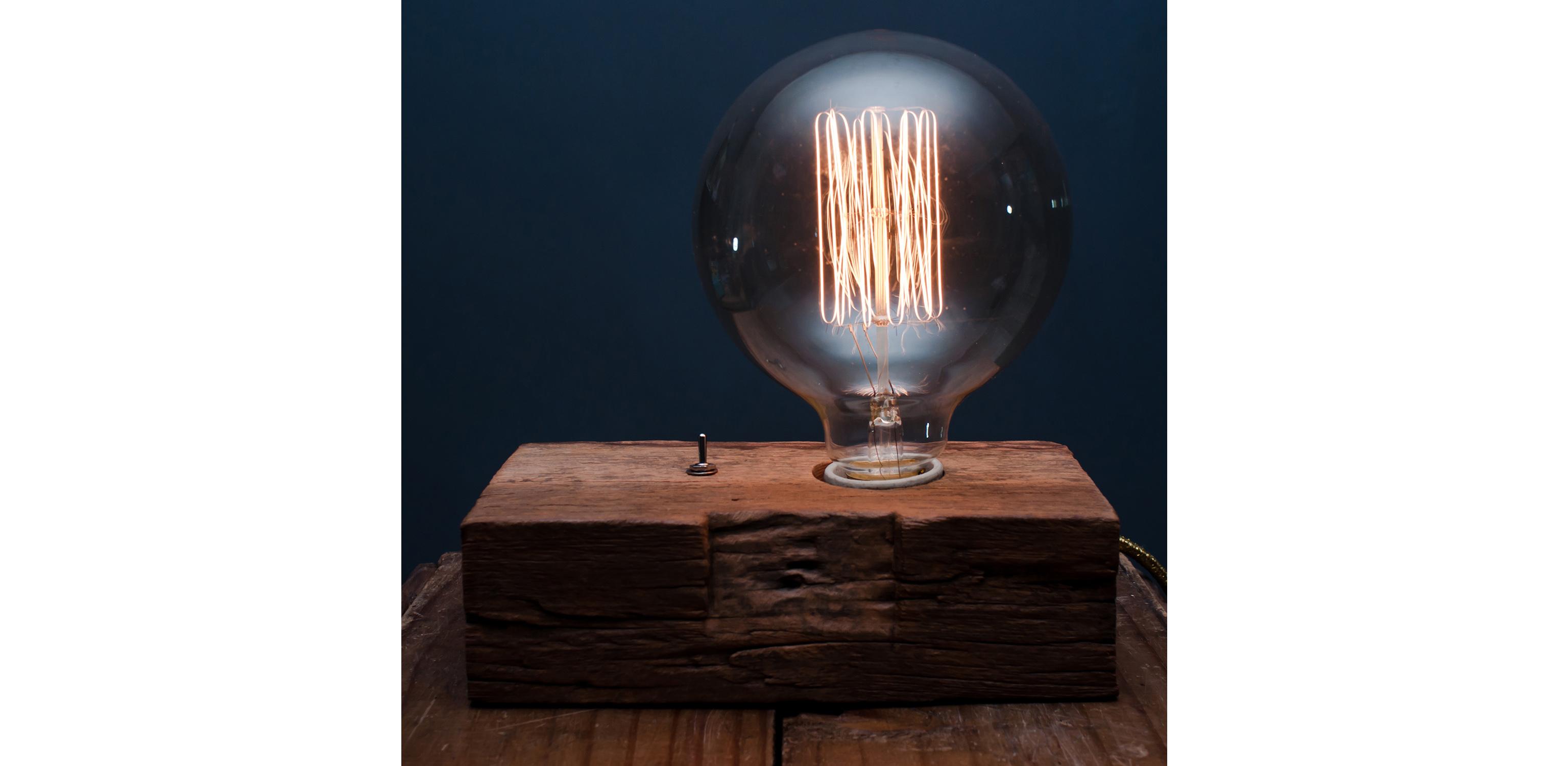 Luminária Rustic - Wood Mood