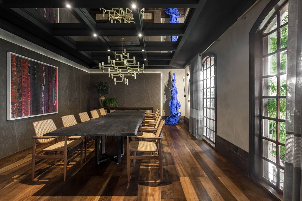 Sala de Jantar, de Janaina Macedo para a CASACOR Paraná 2018