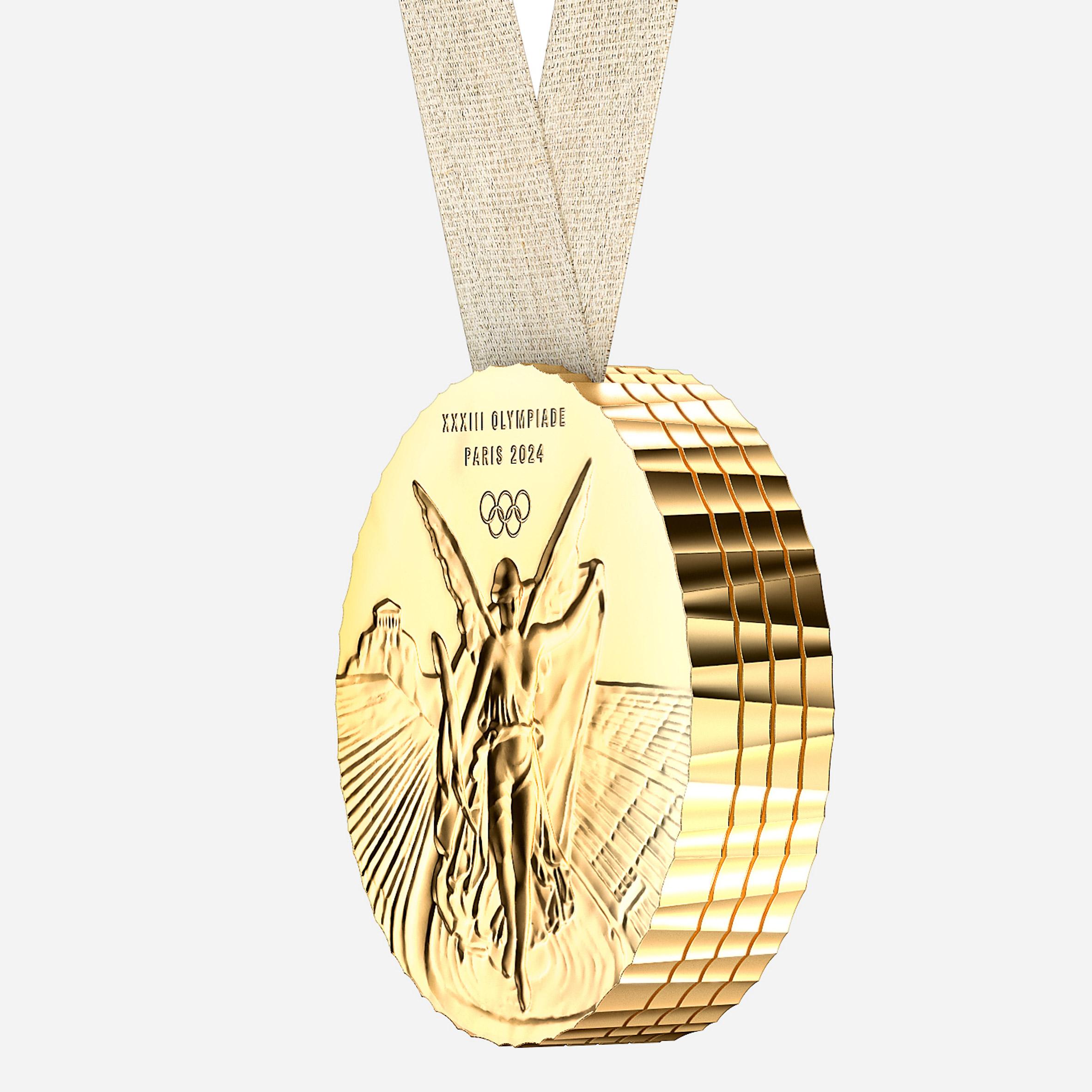 Philippe Starck_Medalhas olimpicas paris 2024