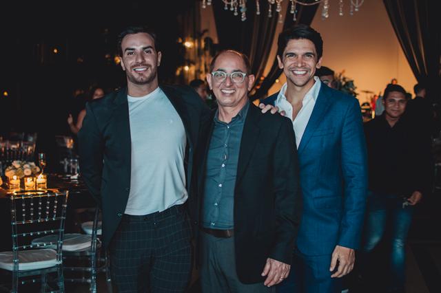 Arquiteto Matheus Bulhões, Cesar Revoredo e Luciano Almeida