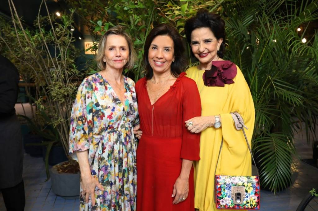 Sheila Podestá, Eliane Martins e Moema Leão CASACOR Brasília
